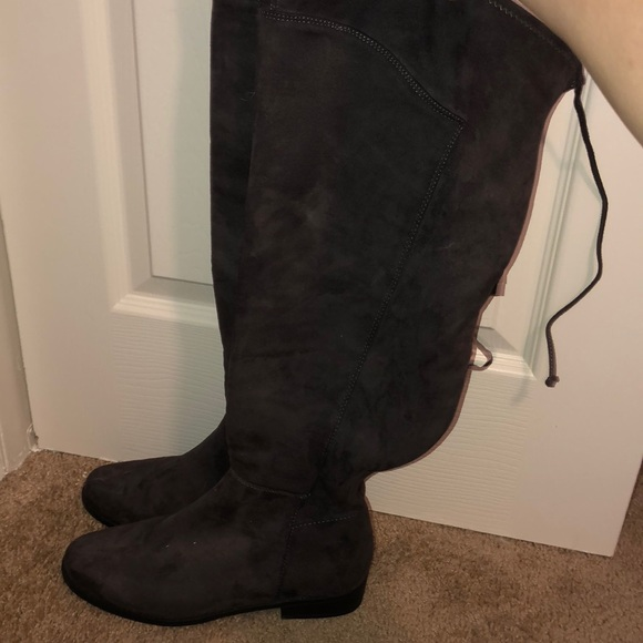6e98998527e Lane Bryant knee-high boots size 8w NWT!